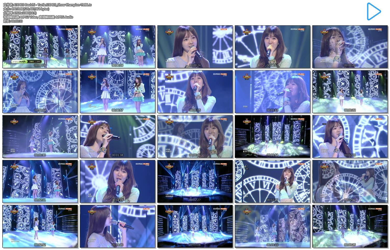 130403 Davichi - Turtle.130403_Show Champion-TMBL.ts