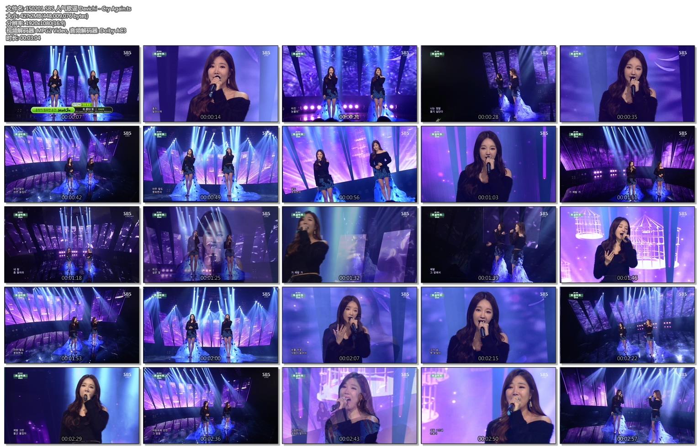 150201 SBS 人气歌谣 Davichi - Cry Again.ts