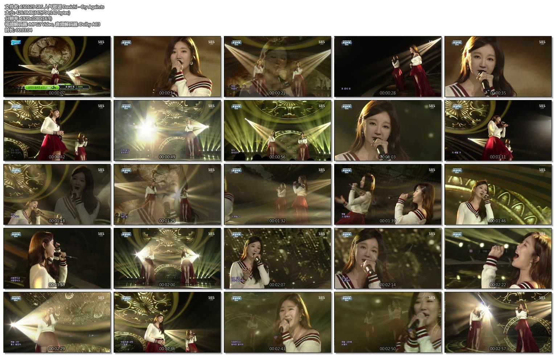 150125 SBS 人气歌谣 Davichi - Cry Again.ts